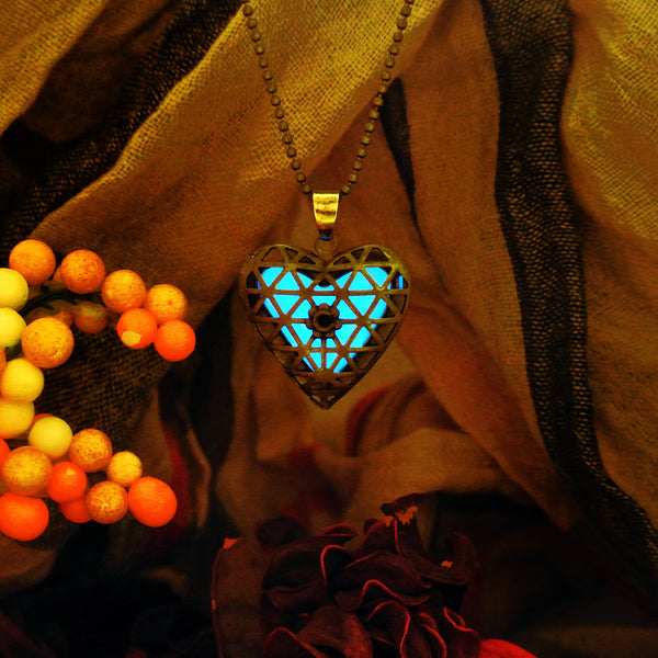 Treasured Heart - Turquoise