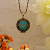 Golden Snow - Turquoise - www.CuteGlow.com Glow in the dark jewelry