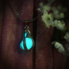 Teardrop - Turquoise - www.CuteGlow.com Glow in the dark jewelry