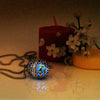 Faberge Egg - Blue - www.CuteGlow.com Glow in the dark jewelry