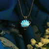 Royal Seashell - Turquoise - www.CuteGlow.com Glow in the dark jewelry