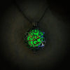 Eclipse - Green - www.CuteGlow.com Glow in the dark jewelry