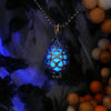Shiny Drop - Blue - www.CuteGlow.com Glow in the dark jewelry