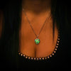 The Tiny Loving Heart - Green -  www.CuteGlow.com Glow in the dark jewelry