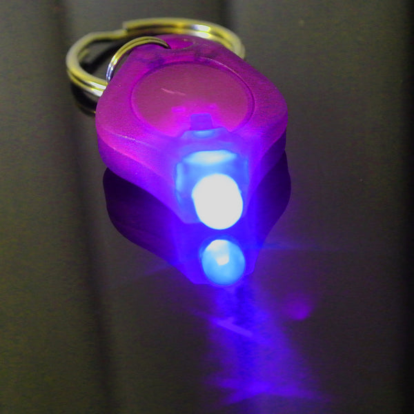 UV Torch Keychain