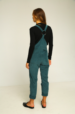 standford overalls teal