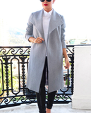 Kendall coat grey