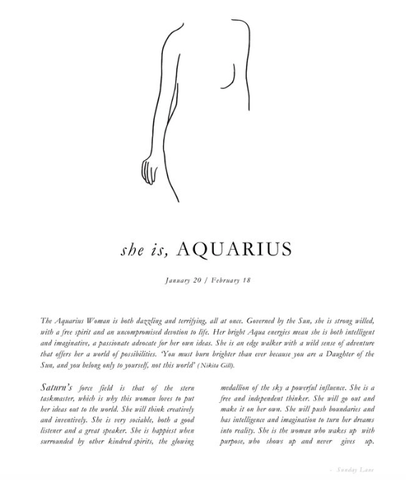 Aquarius womens