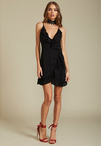 Caliente ruffle dress