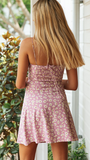 songbird mini dress pink