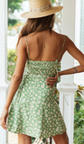 songbird mini dress green
