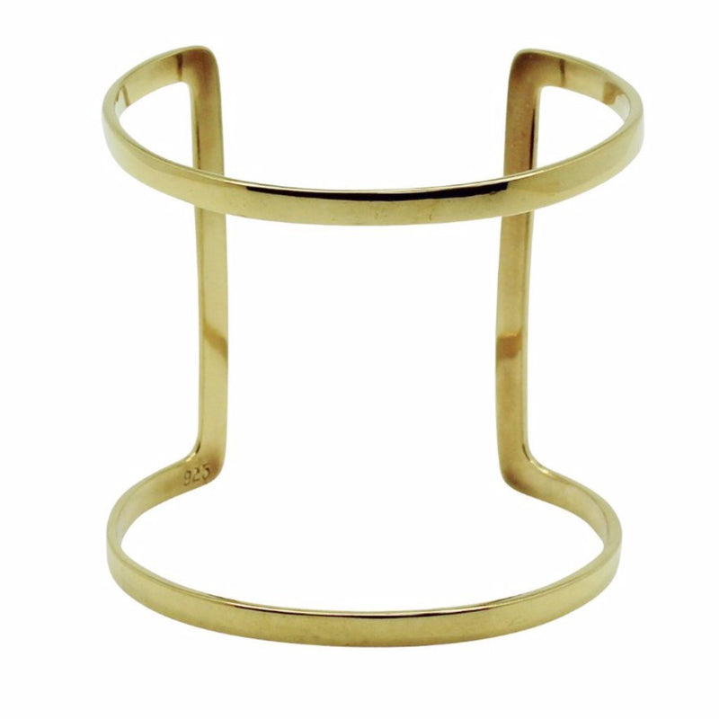 TRIPLE PIERCING RING midi gold plated