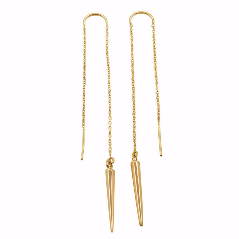 INDIAN EARRINGS Gold plated