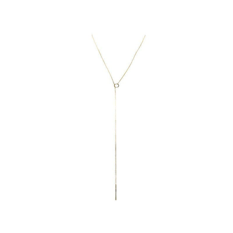 WRAP AROUND NECKLACE gold plated