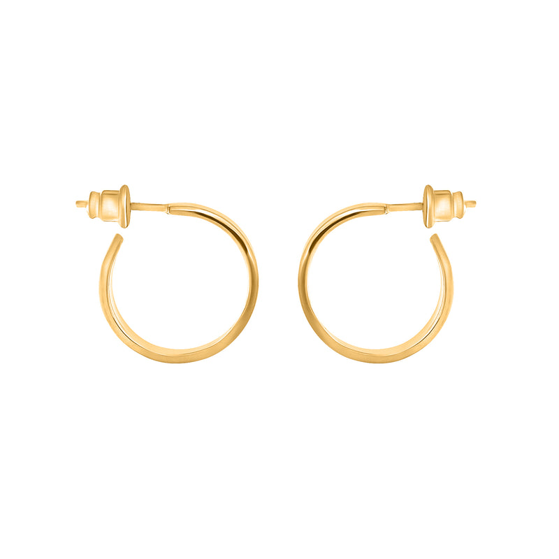 VIKA jewels self love collection earrings Ohrringe hoops Statement jewel recycled sterling gold 18 Karat carat vergoldet handmade bali sustainable ethical nachhaltig schmuck