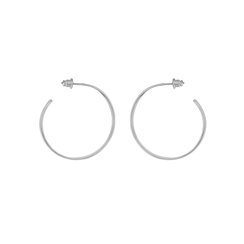 VIKA jewels self love collection earrings Ohrringe hoops Statement jewel silver recycled sterling handmade bali sustainable ethical nachhaltig schmuck