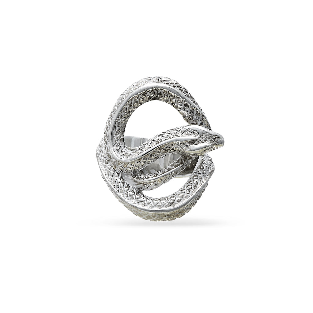 VIKA jewels Schlange Snake ring recycled sterling silver silber handmade handgemacht bali unisex