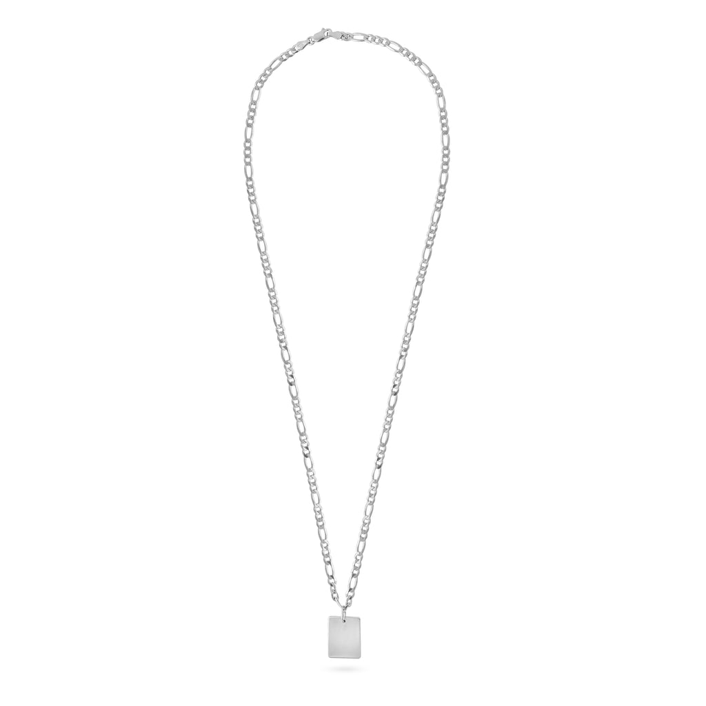 SQUARE MIRROR NECKLACE M