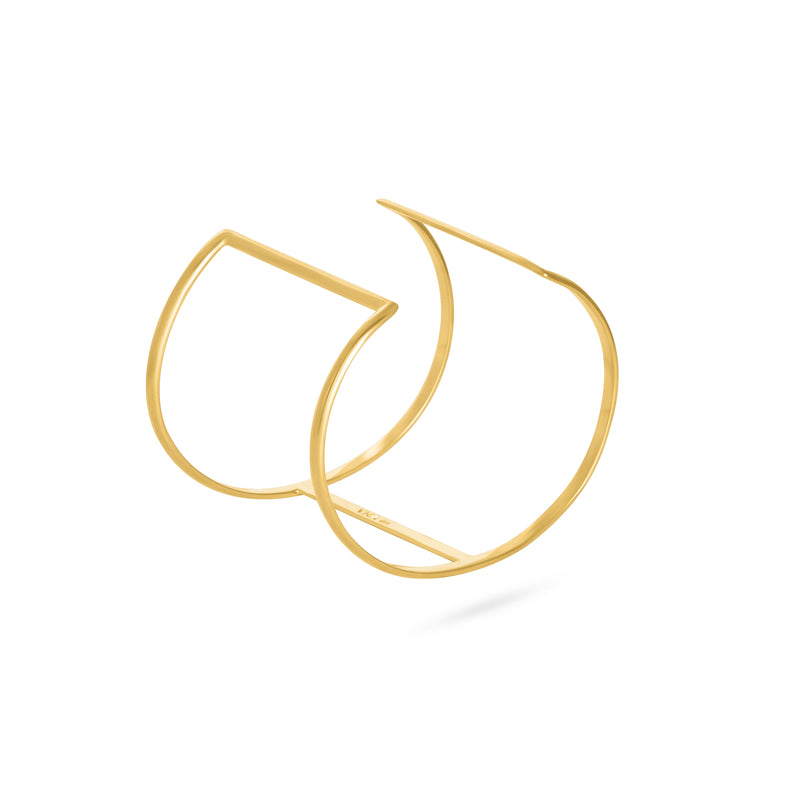 VENT RING MIDI gold plated