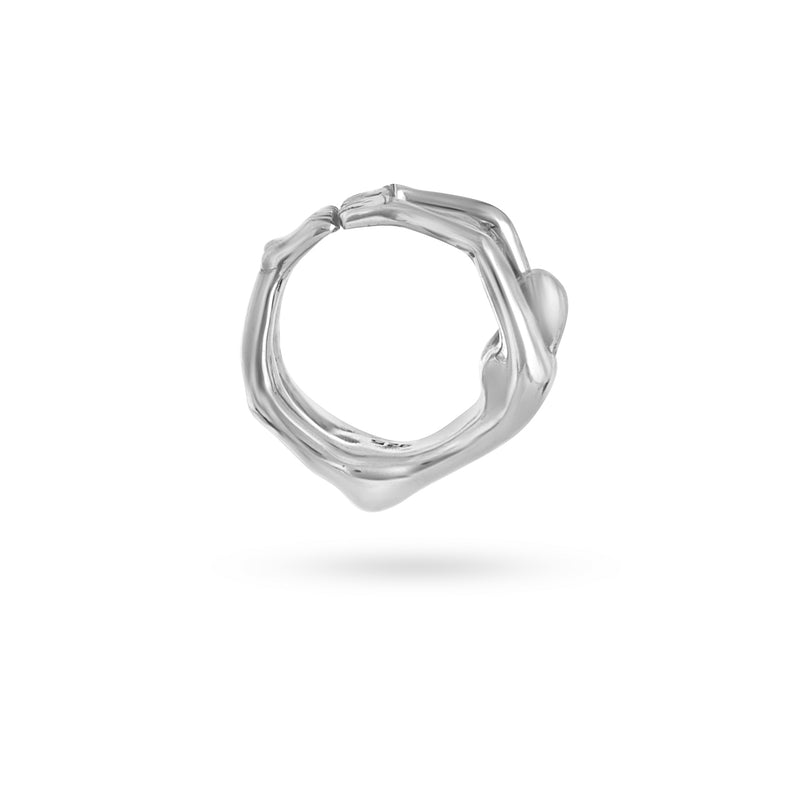 VIKA jewels female body ring statement handmade Bali recycled recycling sterling silver silber fashion jewellery jewelry