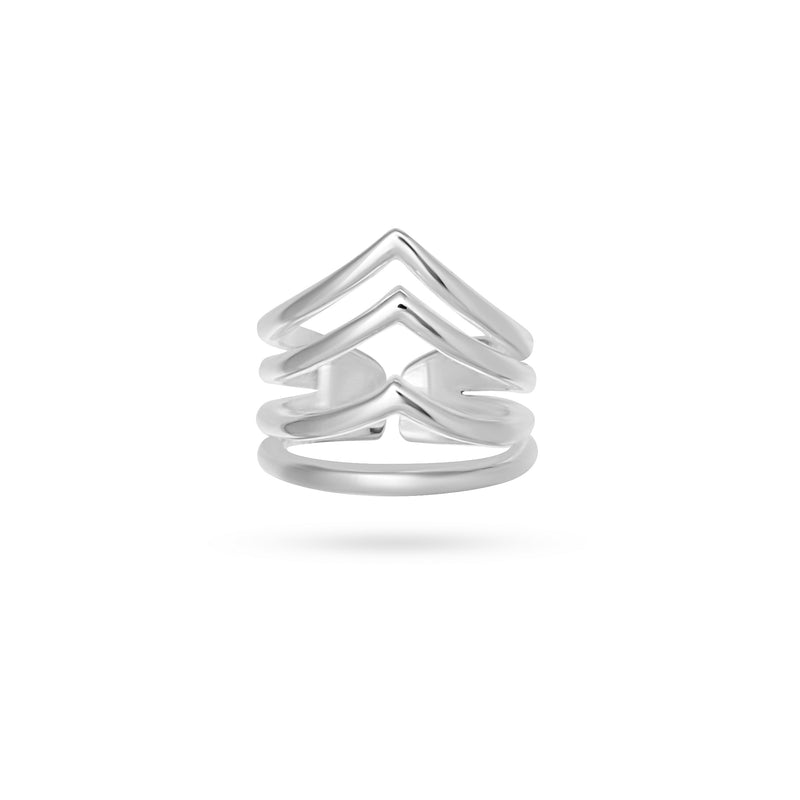 VIKA jewels voyage extraordinaire collection vent ring recycled sterling silver silber handmade bali sustainable ethical nachhaltig schmuck midi