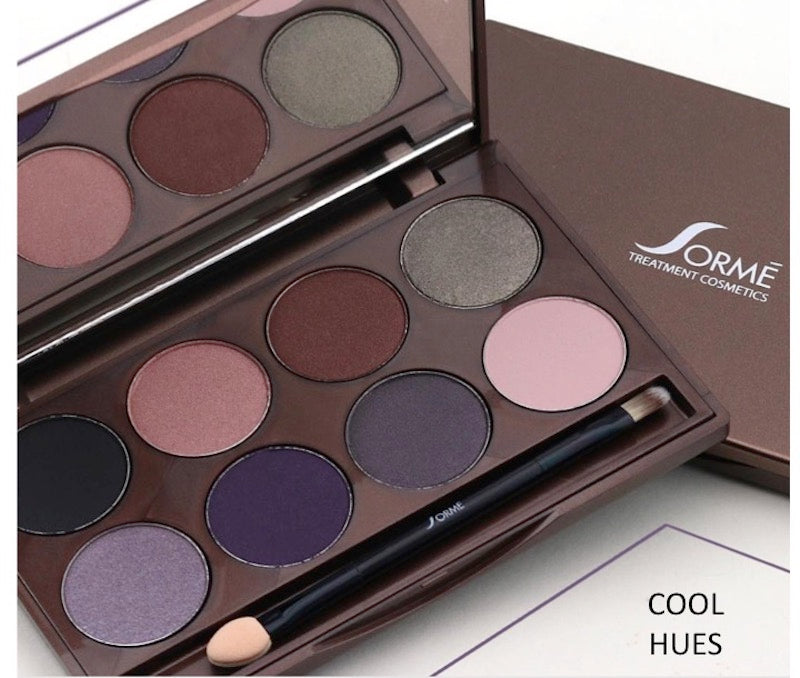 ACCENTED HUES EYESHADOW PALETTES - 8pc