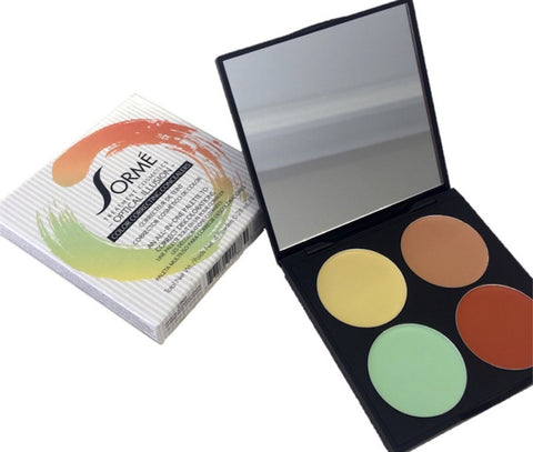 OPTICAL ILLUSION - COLOUR CORRECTING CONCEALERS PALETTE - 4pc