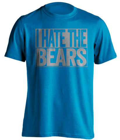 i hate the bears detroit lions blue shirt