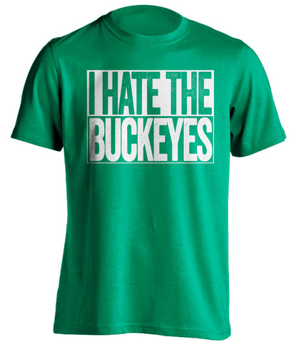 i hate the buckeyes marshall herd green shirt