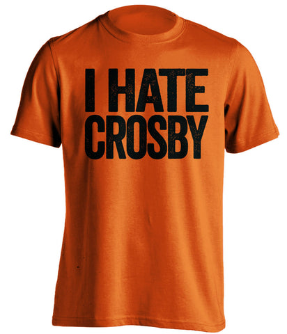 i hate crosby philadelphia flyers orange tshirt