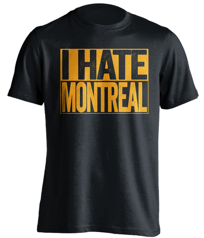 i hate montreal boston bruins black shirt