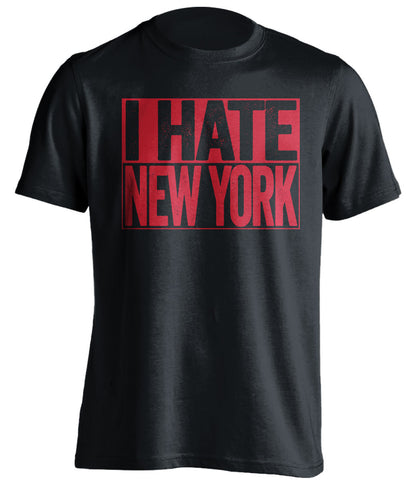 i hate new york new jersey devils black shirt