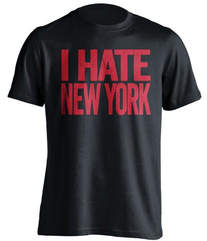 288239b3e2d I Hate New York - New Jersey Devils Shirt - Text ver - Beef Shirts