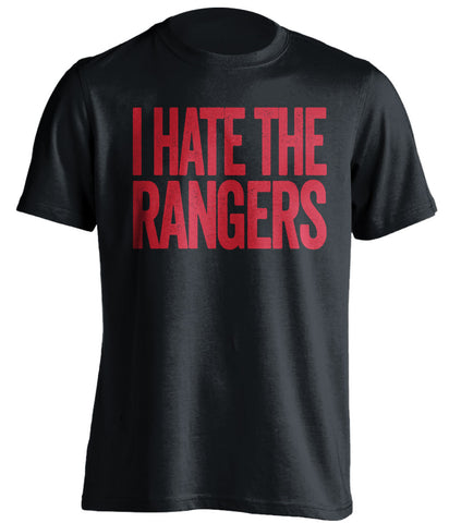 I Hate The Rangers New Jersey Devils black Shirt