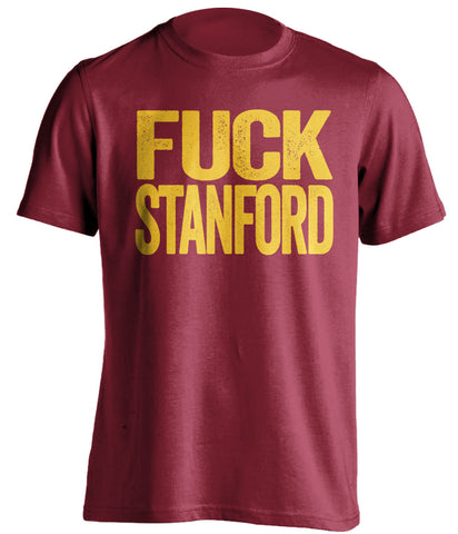 FUCK STANFORD USC Trojans red Shirt