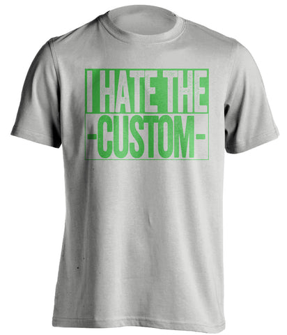 1d6115457 Customized Haters Shirt - Who Do Your Hate T-Shirt - Box Ver | Beef Shirts