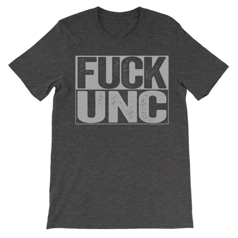 shirt that says fuck unc