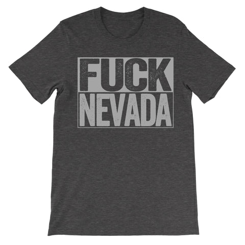 shirt that says fuck nevada