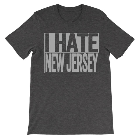 shirt that says i hate new jersey