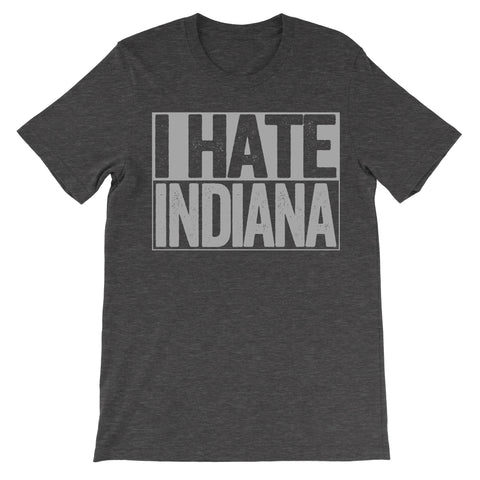 shirt that says i hate indiana