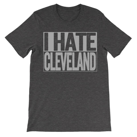 shirt that says i hate cleveland