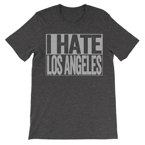 shirt that says i hate los angeles