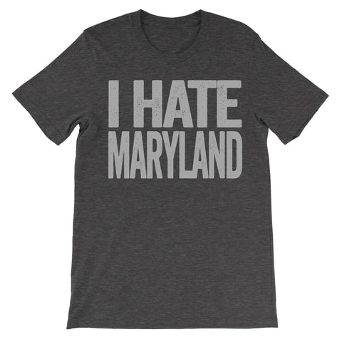 i hate maryland tshirt