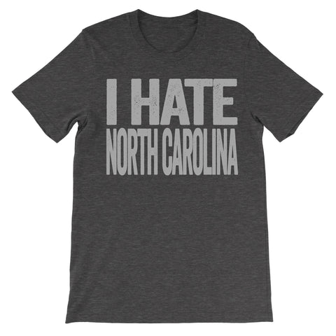 i hate north carolina shirt