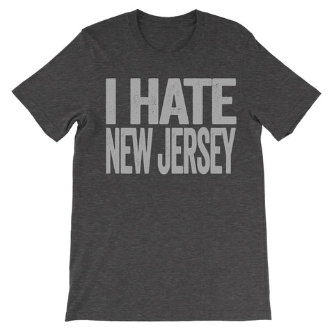 i hate new jersey tshirt