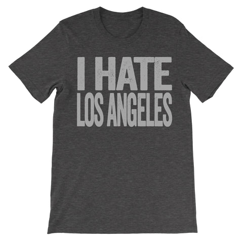 i hate los angeles tshirt