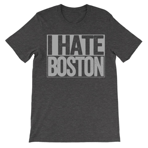 i hate boston tshirt