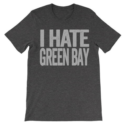 i hate green bay tshirt