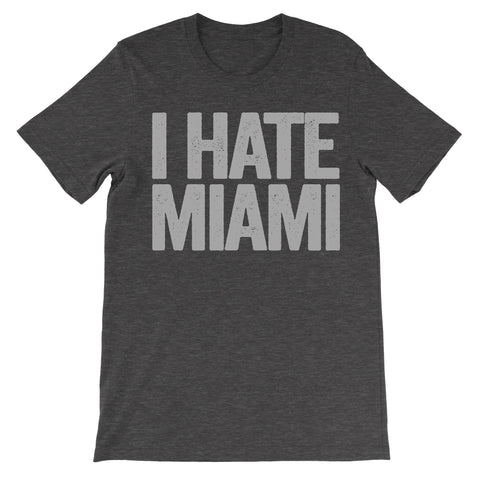 i hate miami shirt