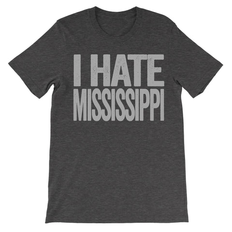 i hate mississippi tshirt